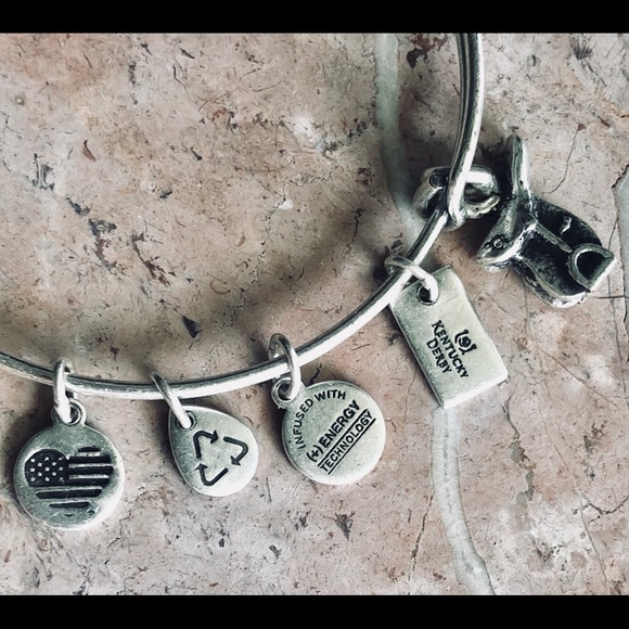 2e12a4f4550068 Alex and Ani Jewelry | Ky Derby Horse Saddle Charm Bracelet | Poshmark